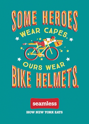 Some Heroes Wear Capes. Ours Wear Bike Helmets.
