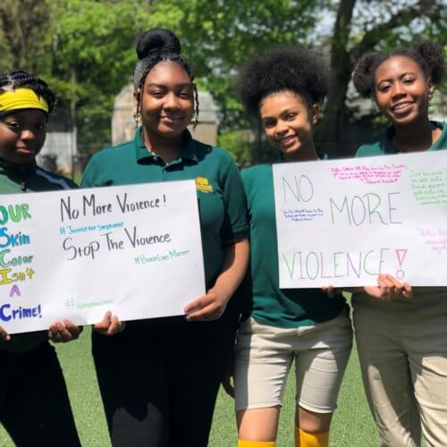 Standing Up For What They Believe In: Meet the 4 Girls Who Led a New Haven Walkout