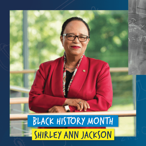 Doing What is Difficult: A Celebration of Dr. Shirley Ann Jackson